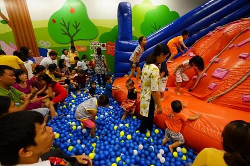 Khu vui chơi dành cho trẻ em tân phú