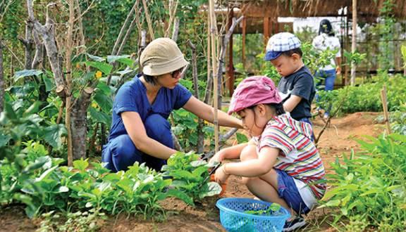 Khu vui chơi trẻ emfamily garden quận 2