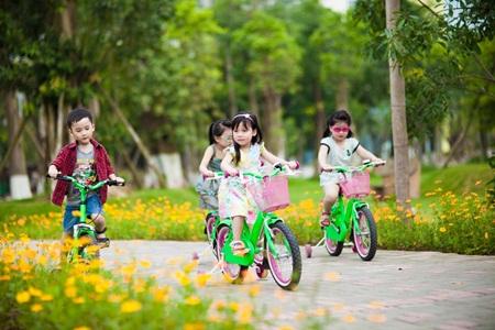 khu vui chơi trẻ em mùa xuân hạ