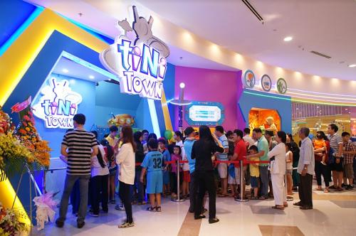 Khu vui chơi trẻ em Aeon mall tân phú