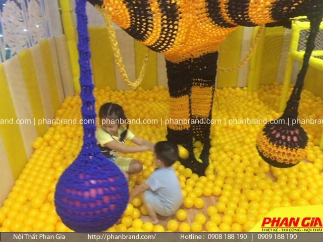 khu vui chơi trẻ em trong nhà