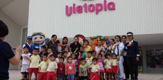 khu vui choi vietopia dành cho trẻ em