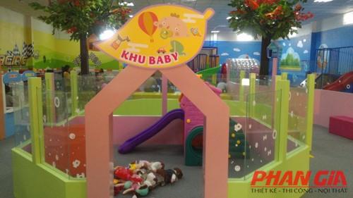 thiết kế khu vui chơi vườn hồng tại bình dương