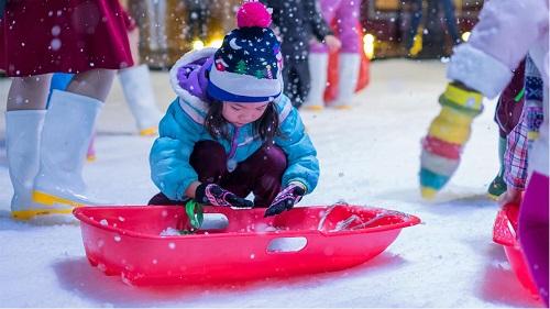 khu vui chơi băng tuyết