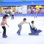 khu vui chơi trượt băng dành cho trẻ em