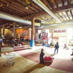 quán cà phê có khu vui chơi cho trẻ em