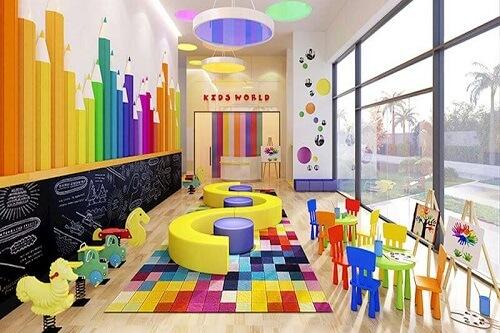 Khu vui chơi trẻ em trong căn hộ