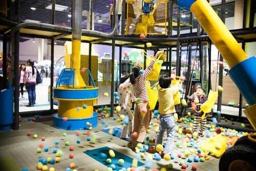 khu vui chơi trẻ em helio center