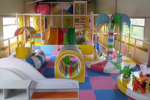 khu vui chơi trong căn hộ cho bé