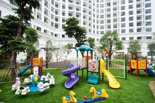 khu vui chơi trong chung cư dành cho trẻ em