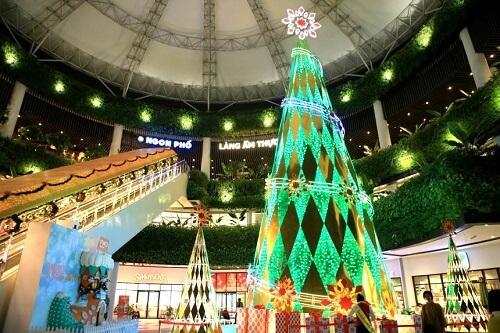 Aeon Mall Long Biên đêm giáng sinh