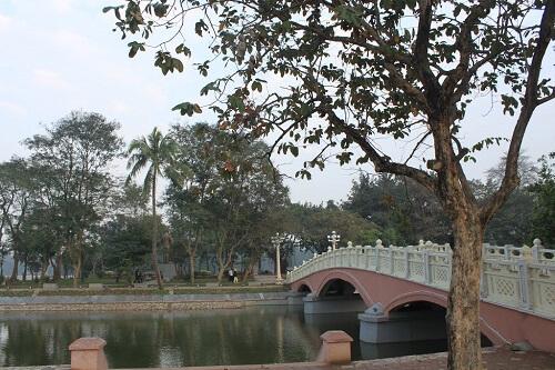 công viên thống nhất địa điểm vui chơi ở hà nội cho sinh viên
