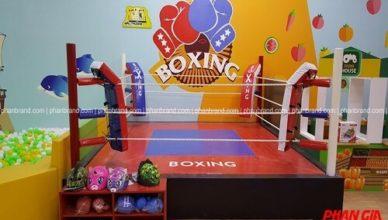 Khu boxing cho trẻ em