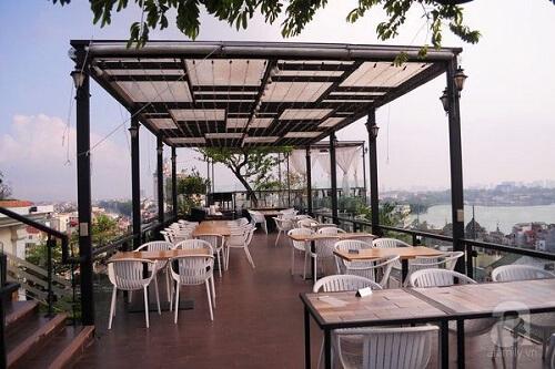 quán cafe trên không