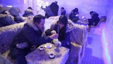 cafe băng tuyết