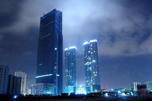 tòa tháp Keangnam Landmark