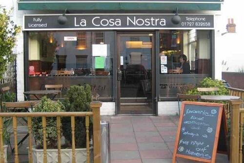 quán cafe Cosa Nostra